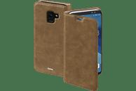 HAMA Essential Line , Bookcover, Samsung, Galaxy A6 (2018), Kunstleder, Braun