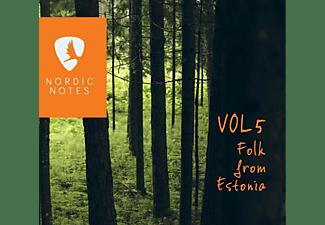 VARIOUS - Nordic Notes Vol.5: Folk From Estonia  - (CD)