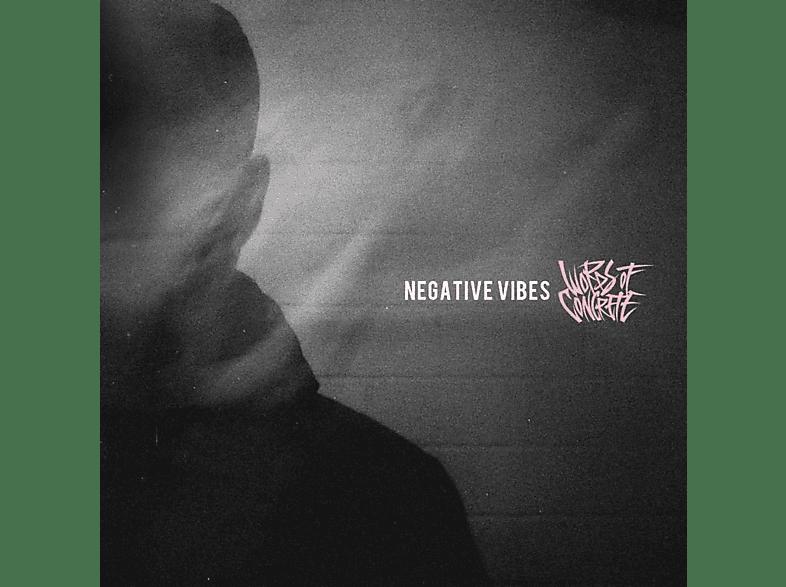 Words Of Concrete - Negative Vibes (Ltd.White Marble Vinyl) [Vinyl]