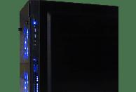 HYRICAN STRIKER 5872, Gaming PC mit Core™ i5 Prozessor, 16 GB RAM, 120 GB SSD, 1 TB HDD, GeForce® GTX 1050 Ti, 4 GB