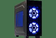 HYRICAN STRIKER 5890, Gaming PC mit Core™ i7 Prozessor, 16 GB RAM, 240 GB SSD, 1 TB HDD, GeForce® GTX 1080, 8 GB