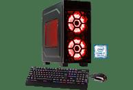 HYRICAN STRIKER 5881, Gaming PC mit Core™ i7 Prozessor, 16 GB RAM, 240 GB SSD, 1 TB HDD, GeForce® GTX 1070 Ti, 8 GB