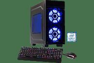 HYRICAN STRIKER 5892, Gaming PC mit Core™ i7 Prozessor, 16 GB RAM, 240 GB SSD, 1 TB HDD, GeForce® GTX 1060, 6 GB