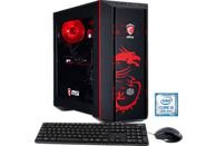 HYRICAN MSI DRAGON E. 5921, Gaming PC mit Core™ i5 Prozessor, 8 GB RAM, 240 GB SSD, 1 TB HDD, GeForce® GTX 1060, 6 GB