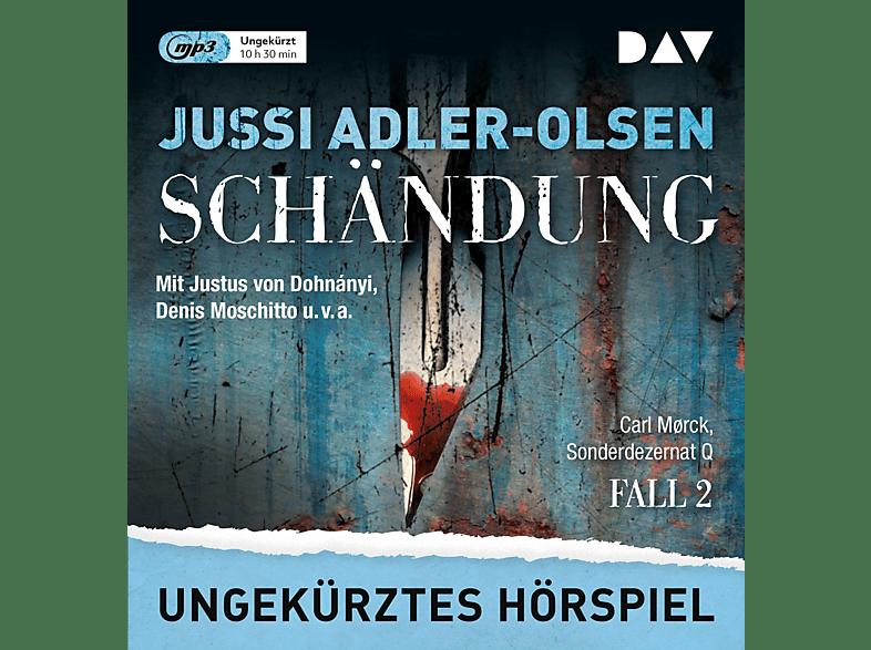 Jussi Adler-olsen - Schändung. Carl Mørck, Sonderdezernat Q, Fall 2 - (MP3-CD)