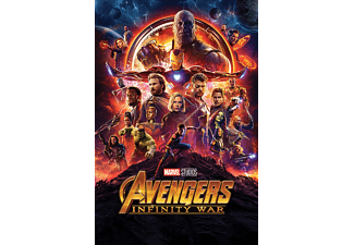 PYRAMID INTERNATIONAL Avengers Infinity War Poster One Sheet Großformatige Poster, Mehrfarbig