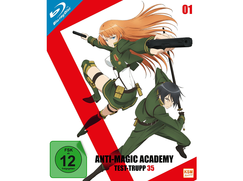 Anti-Magic Academy - Test-Trupp 35 - Volume 1 - Episode 1-4 [Blu-ray]