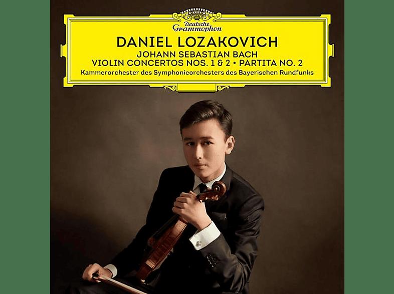 Daniel Lozakovich, Kammerorchester Des Symphonieorchesters Des Bayerischen Rundfunks - Johann Sebastian Bach [CD]