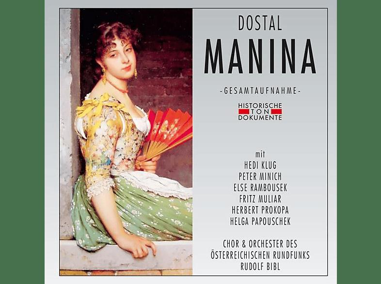 Chor & Orchester Des Österreichischen Rundfunks - Manina [CD]