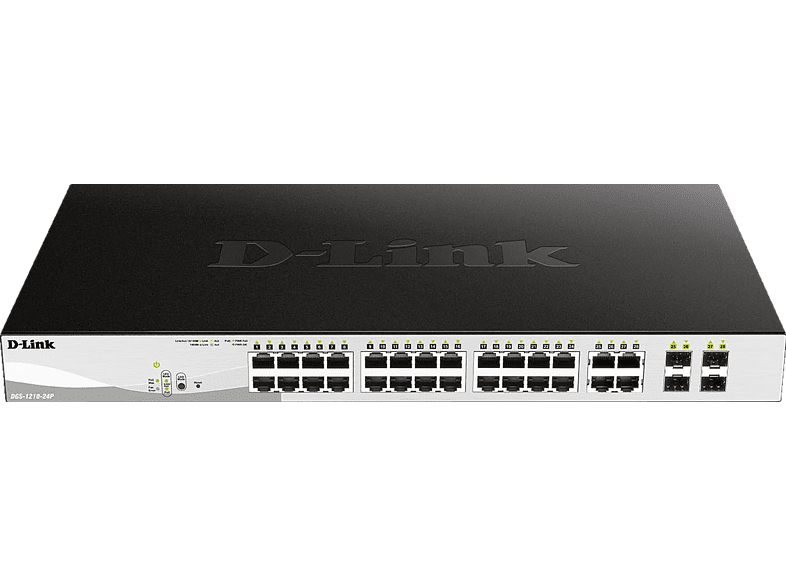 Smart Switch D-LINK 24-Port Layer2 PoE 28
