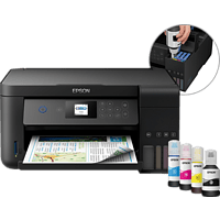 EPSON EcoTank ET-2750 Epson Micro Piezo™-Druckkopf 3-in-1 Multifunktionsdrucker WLAN Netzwerkfähig