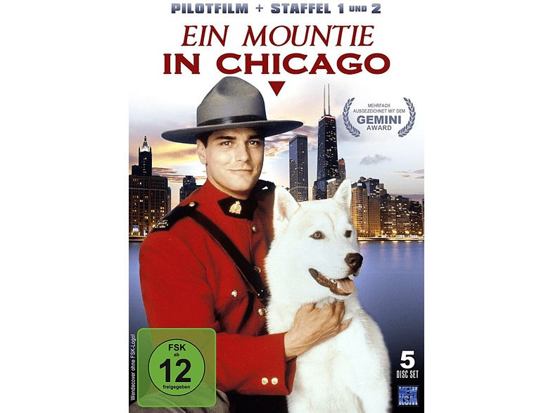 Ein Mountie in Chicago - Staffel 1 und 2 + Pilotfilm [DVD]