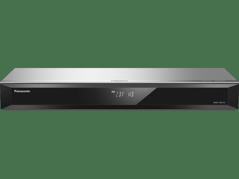 PANASONIC DMR-UBC70 EGS UHD Blu-ray Recorder, Silber