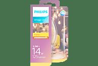PHILIPS Classic 14W B35 E14 LED Leuchtmittel E14 Goldweiß 2.3 Watt 125 Lumen