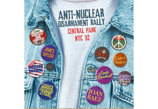 VARIOUS - Anti-Nuclear Disarment Rally Central Park Nyc '82 - (CD)