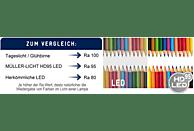 MÜLLER-LICHT 400251 HD95 LED Leuchtmittel E27 Warmweiß 10 Watt 806 Lumen