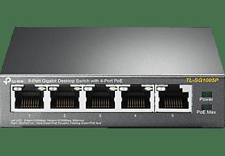 TP-LINK TL-SG1005P 5-PORT GIGABIT SWITCH MIT POE  Switch 5