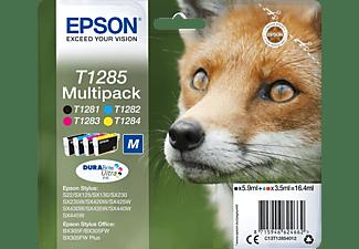 EPSON Original Tintenpatrone mehrfarbig (C13T12854010)