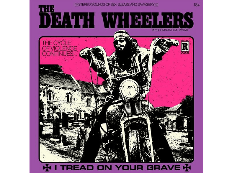 Death Wheelers - I Tread On Your Grave [CD]