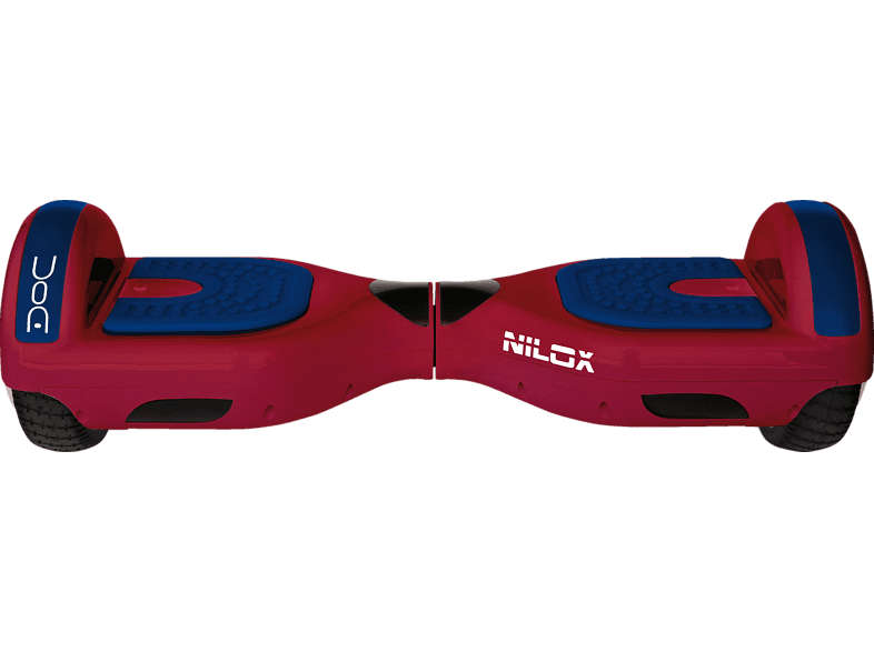 NILOX DOC 1 Rot/Blau E-Board (6.5 Zoll, Rot/Blau)