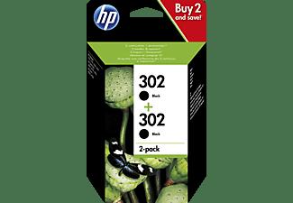 HP 302 Tintenpatrone Schwarz (1VV49AE)