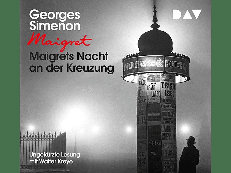 Simenon Georges - Maigrets Nacht an der Kreuzung - (CD)