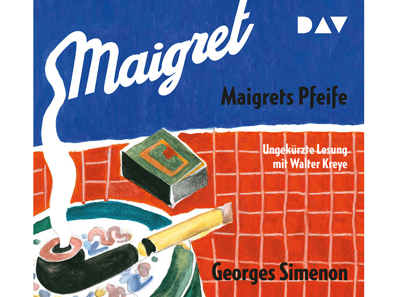 Simenon Georges - Maigrets Pfeife - (CD)