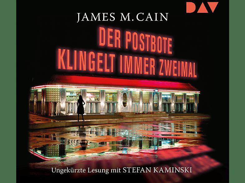 JAMES M. Cain - Der Postbote klingelt immer zweimal - (CD)