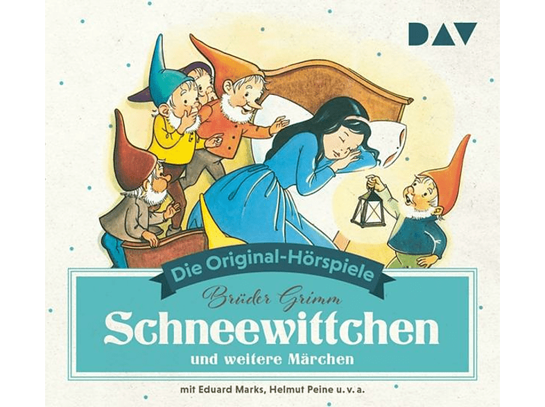 Grimm,Jacob/Grimm,Wilhelm - Schneewittchen und weitere Märchen - (CD)