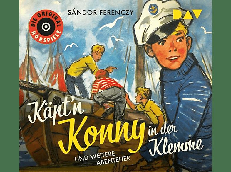 Sándor Ferenczy - Käpt'n Konny in der Klemme und weitere Abenteuer - (CD)