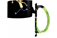 PYRAMID INTERNATIONAL Rick and Morty Thermoeffekt Tasse Portals Merchandise, Schwarz