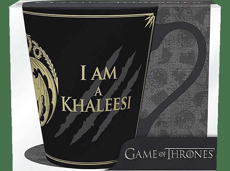 ABYSTYLE Game of Thrones Tasse I am not a Princess I am Khaleesie Tasse, Schwarz