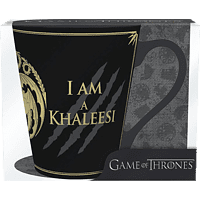 ABYSTYLE Game of Thrones Tasse I am not a Princess I am Khaleesie Tasse, Schwarz