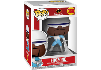 FUNKO UK Disney The Incredibles 2 Pop! Vinyl Figur 368 Frozone Vinyl Figur, Mehrfarbig