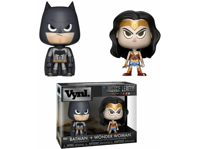 POP! VYNL DC Comics - Wonder Woman & Batman