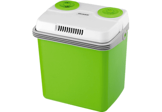 SEVERIN Elektrische Kühlbox (E, 420 mm hoch, Grün/Grau)