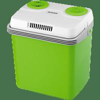 SEVERIN Elektrische Kühlbox (70 kWh/Jahr, A++, 420 mm hoch, Grün/Grau)