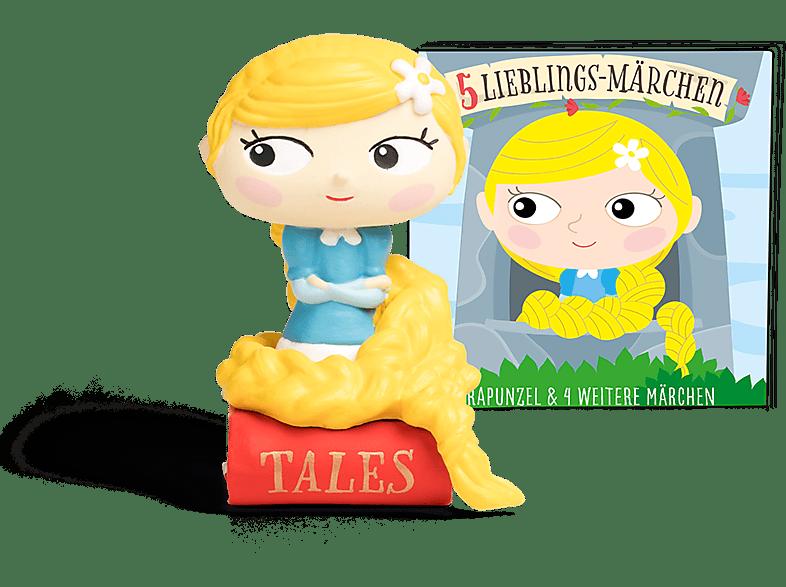 BOXINE Tonie-Hörfigur: 5 Lieblings-Märchen - Rapunzel und 4 weitere Märchen Hörfigur, Mehrfarbig