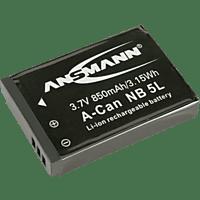 ANSMANN 5022953 A-CAN NB 5 L Akku Canon , Li-Ion, 3.7 Volt, 850 mAh