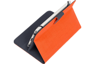 RIVACASE 3314 Tablethülle, Bookcover, 8 Zoll, Orange