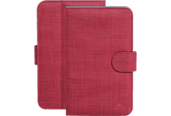 RIVACASE 3312 Tablethülle, Bookcover, 7 Zoll, Rot