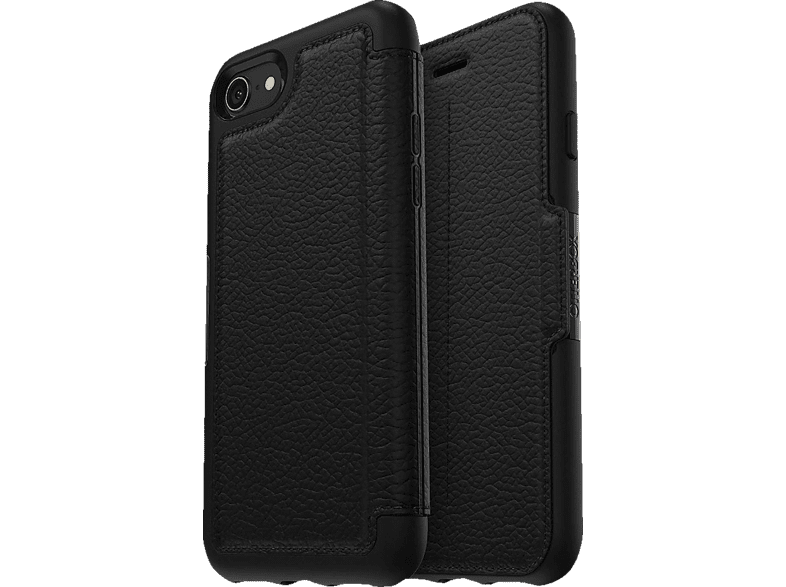 OTTERBOX Strada Shadow , Bookcover, Apple, iPhone 7, iPhone 8, Schwarz