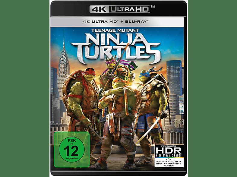 Teenage Mutant Ninja Turtles [4K Ultra HD Blu-ray + Blu-ray]