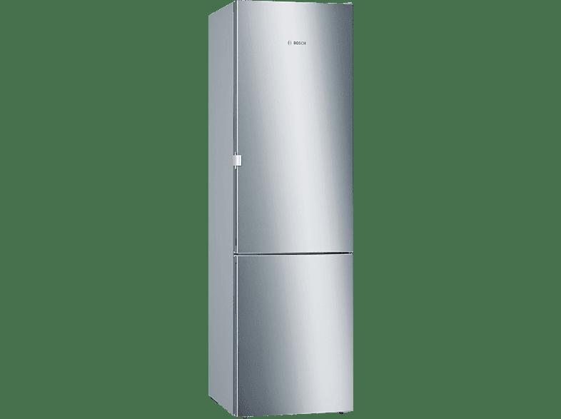 BOSCH KGE392I4B Serie 4 Kühl- / Gefrierkombination (A+++, 168 kWh/Jahr, 2010 mm hoch, inox-antifingerprint)