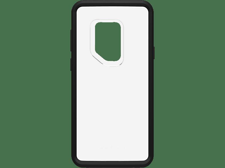 LIFEPROOF LPF , Backcover, Samsung, Galaxy S9, Kunststoff, Transparent/Schwarz