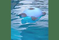 BIGBEN Lumin US Turtle Bluetooth Lautsprecher, Transparent, Wasserfest