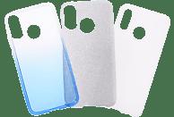 V-DESIGN VSP 010 , Backcover, Huawei, P20 Lite, Plastik + Thermoplastisches Polyurethan, Blau
