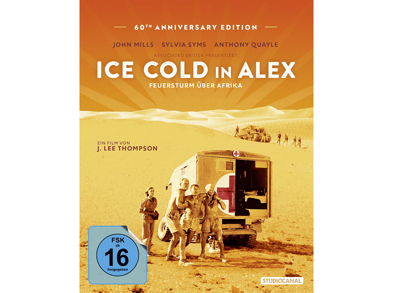 Ice Cold in Alex - Feuersturm über Afrika [Blu-ray]