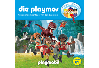 Die Playmos - (61)Aufregende Abenteuer Mit Den Explorers  - (CD)
