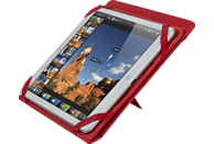 RIVACASE 3217 RED Tablethülle, Bookcover, 10.1 Zoll, Rot